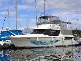 Added yacht Carver 40